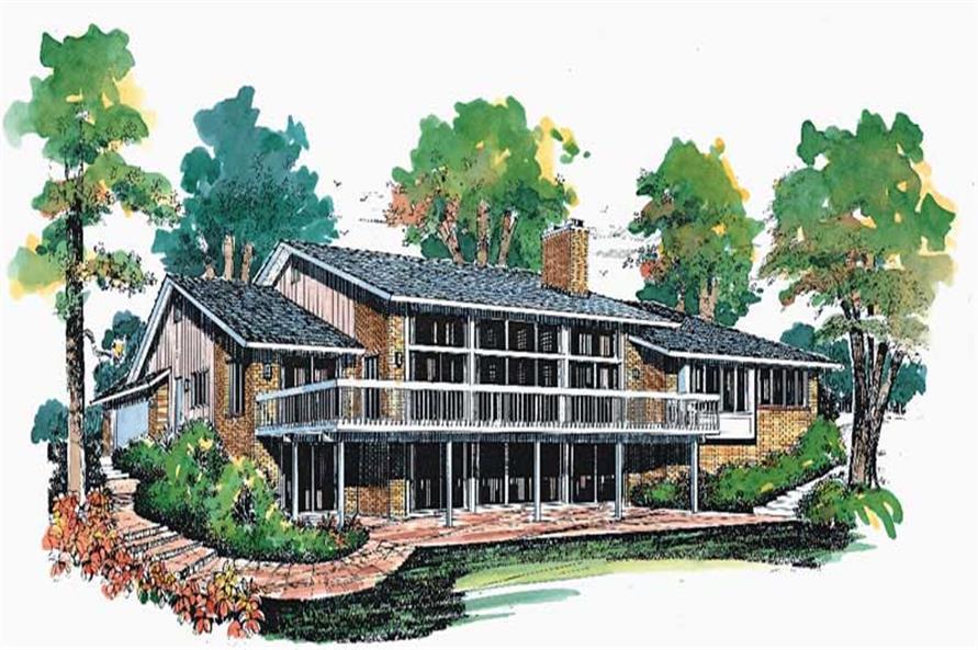 House Plan #137-1635