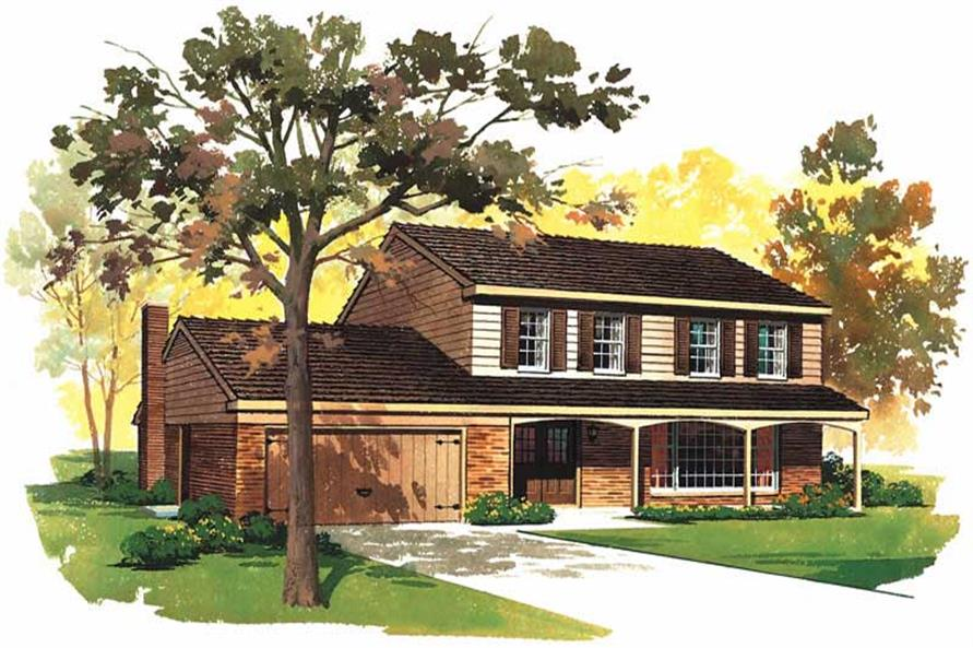 Main image for house plan # 17381