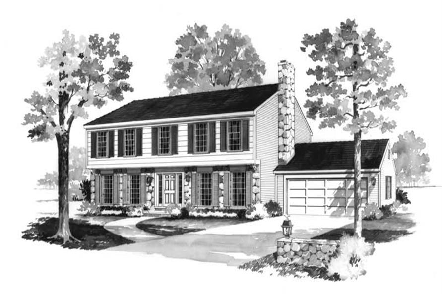 Main image for house plan # 17467