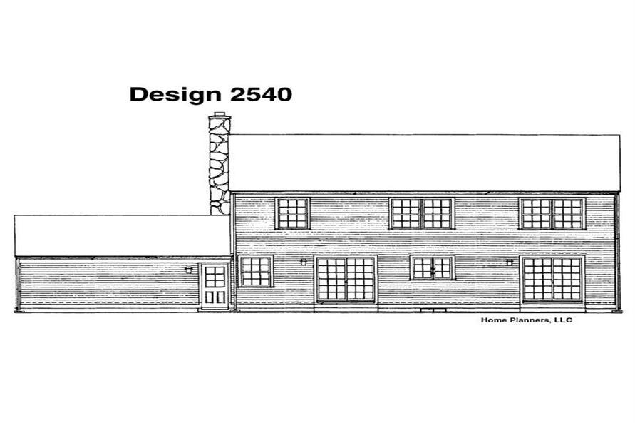 House Plan #137-1640