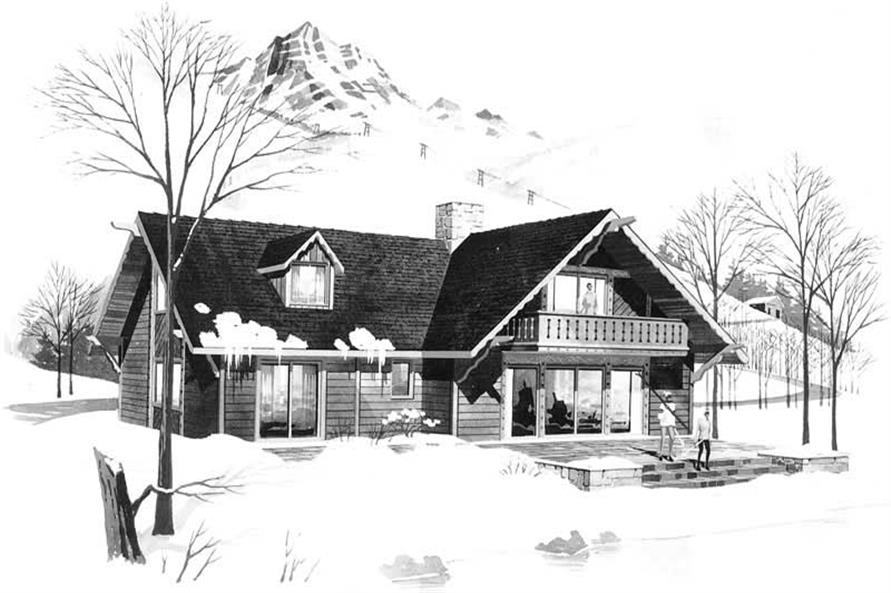 Main image for house plan # 17450