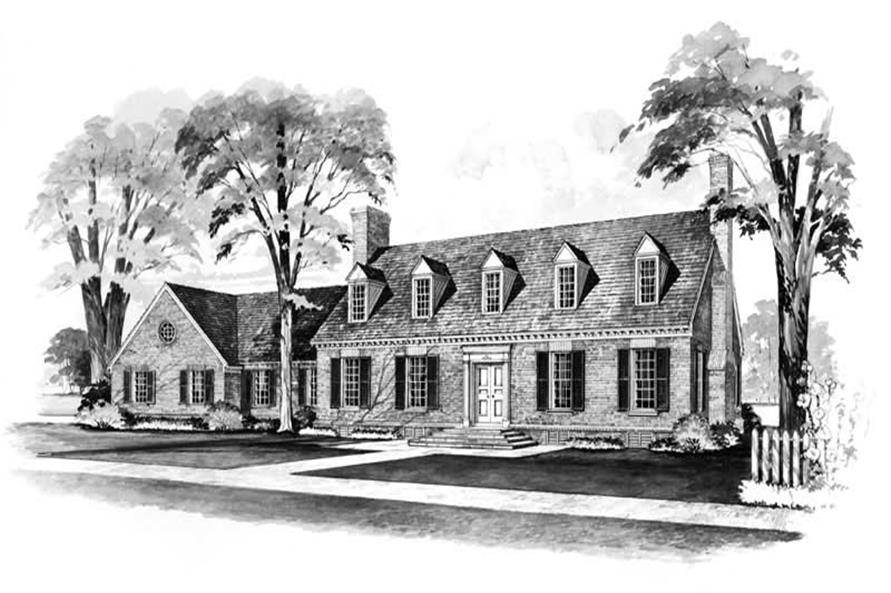 Main image for house plan # 17392