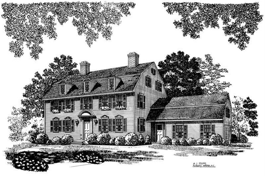 Main image for house plan # 17473