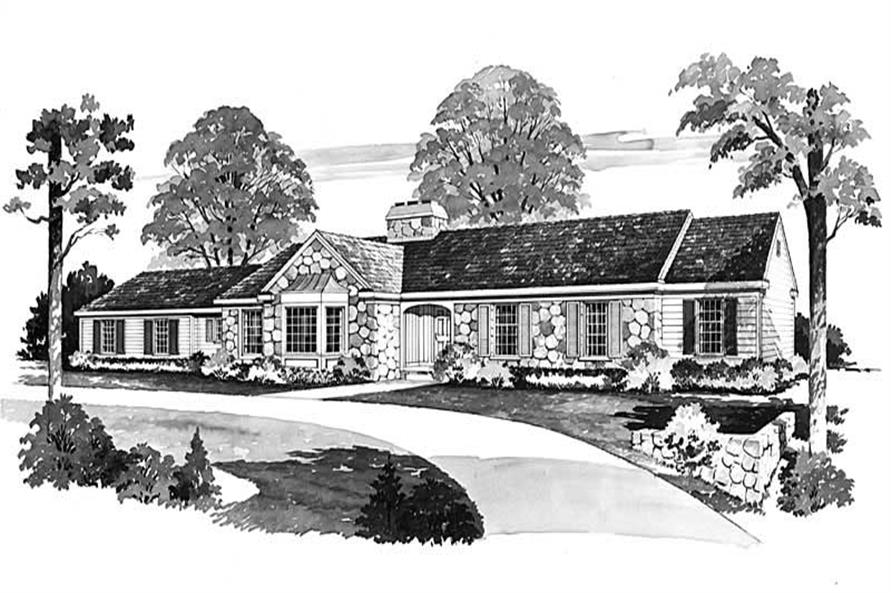 Main image for house plan # 17470