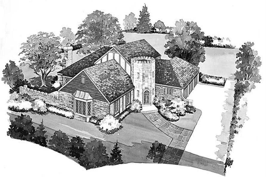 Main image for house plan # 17437