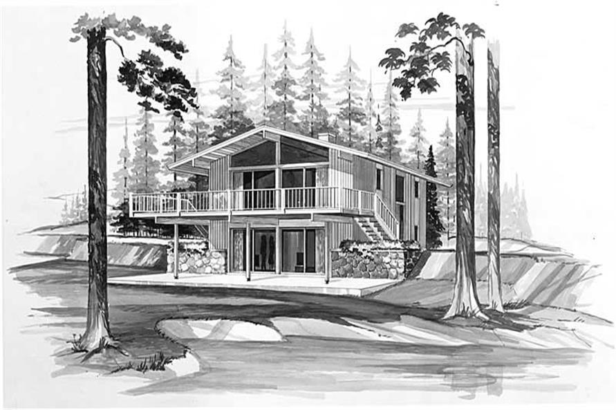 Main image for house plan # 17441