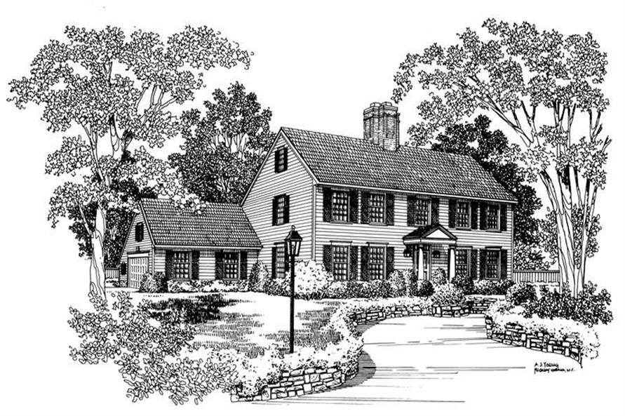 Main image for house plan # 17528