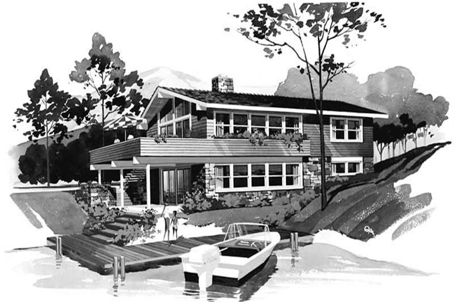 Main image for house plan # 17448