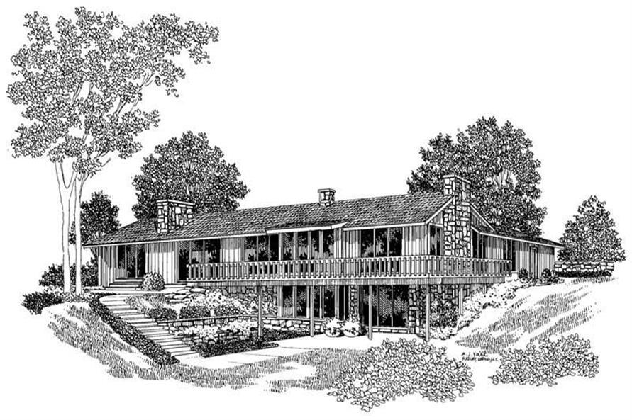 House Plan #137-1673