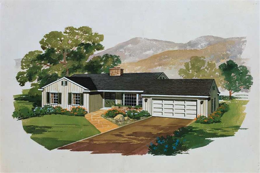 Main image for house plan # 17460