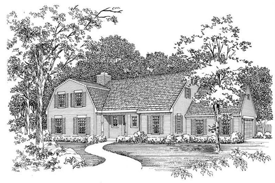 Main image for house plan # 17516