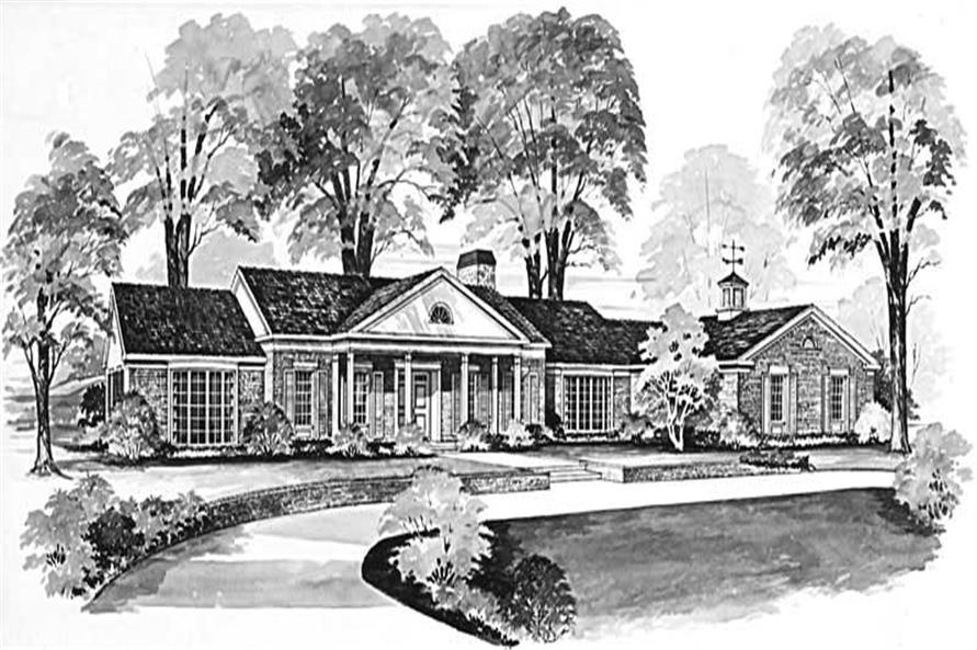 Main image for house plan # 17393