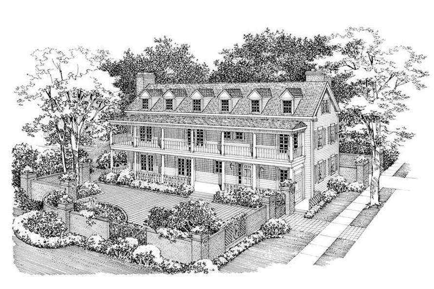 Main image for house plan # 17533