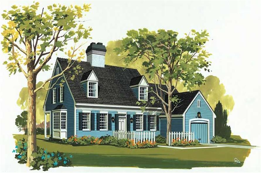 Main image for house plan # 17531
