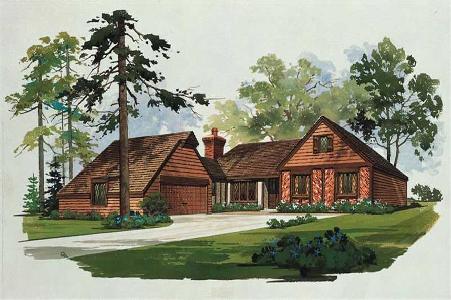 Main image for house plan # 17494
