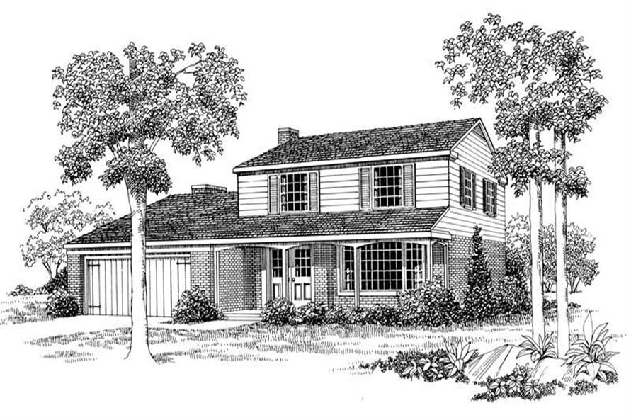 Main image for house plan # 17380