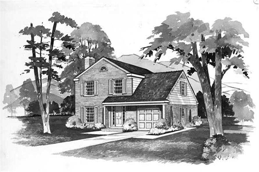 Main image for house plan # 17323