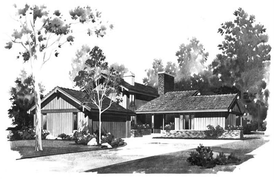 Main image for house plan # 17436