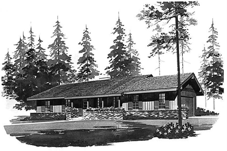 Main image for house plan # 17698