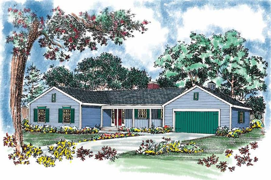 Main image for house plan # 17383