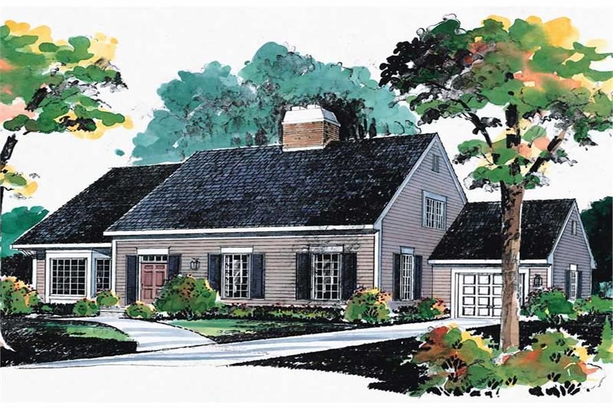 Main image for house plan # 17608