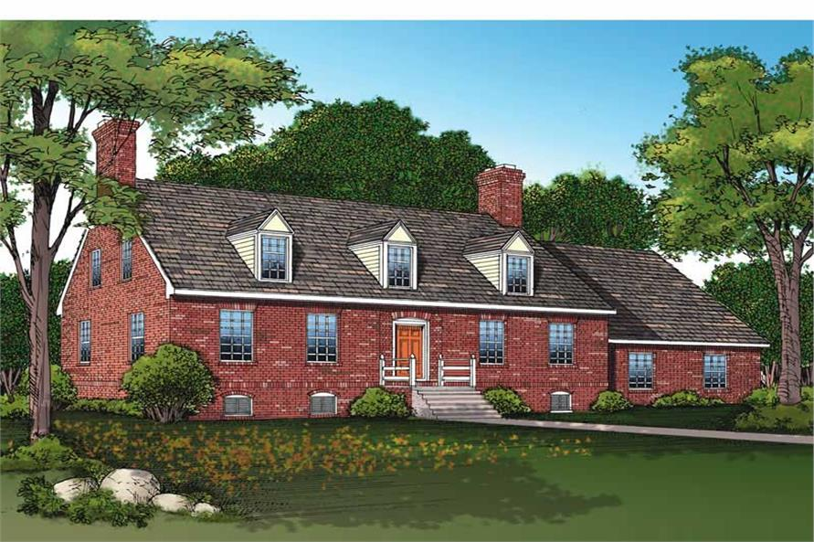 Main image for house plan # 17622