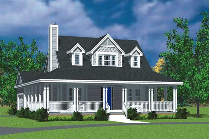 Main image for house plan # 17738