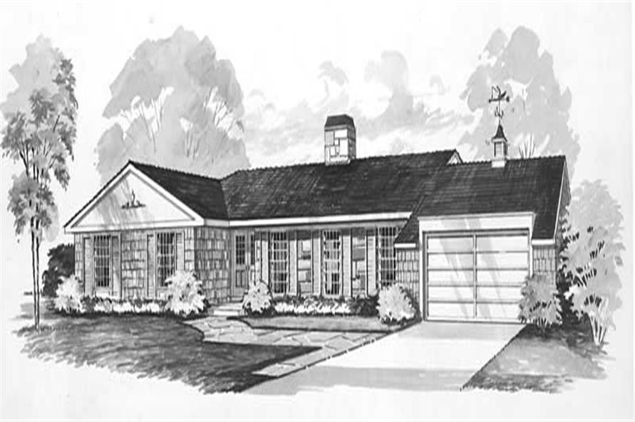 Main image for house plan # 17335