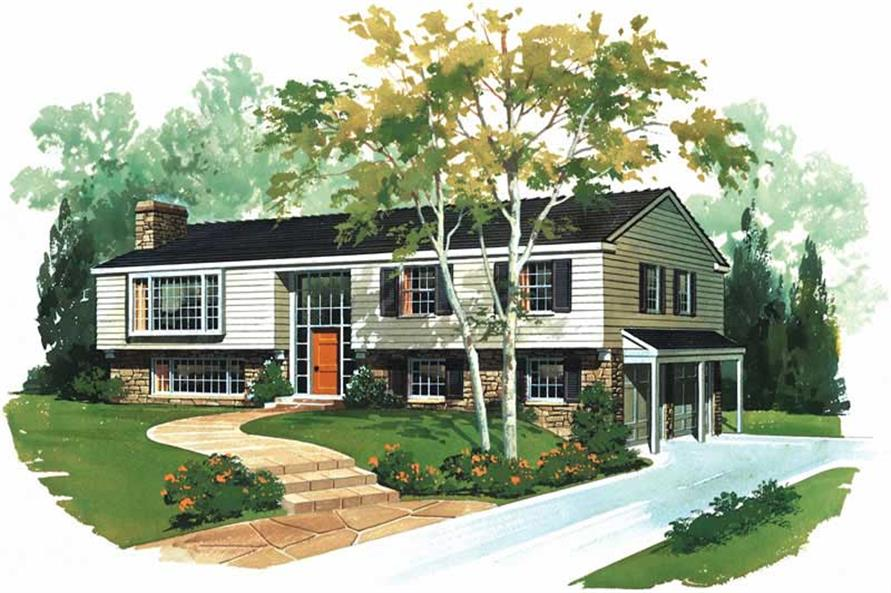 Main image for house plan # 17336