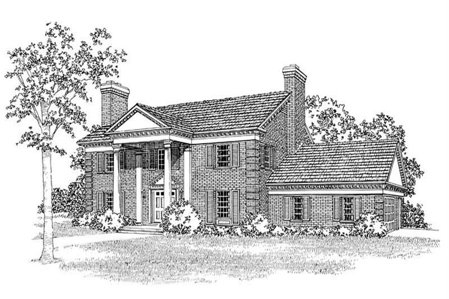 Main image for house plan # 17423