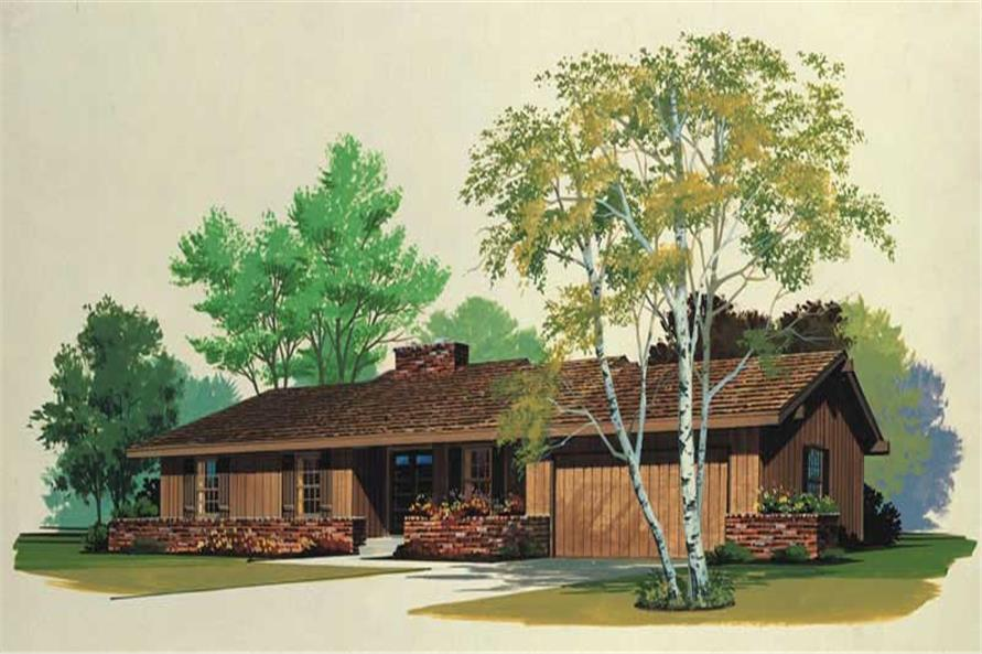 Main image for house plan # 17592