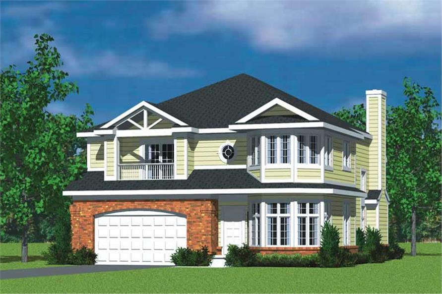 Main image for house plan # 17741