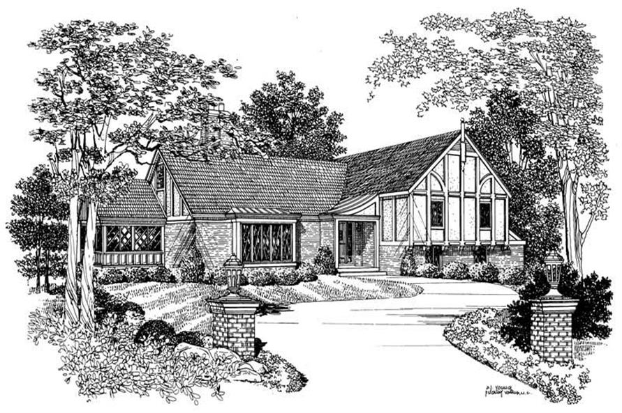 Main image for house plan # 17419