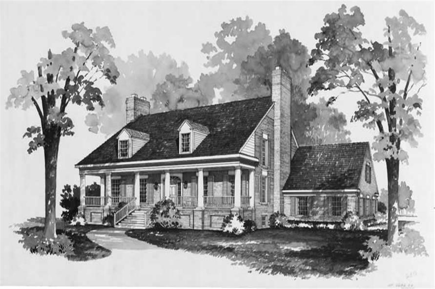 Main image for house plan # 17611