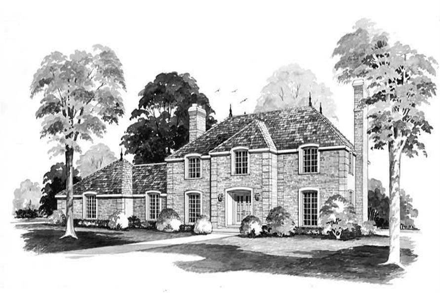 Main image for house plan # 17422