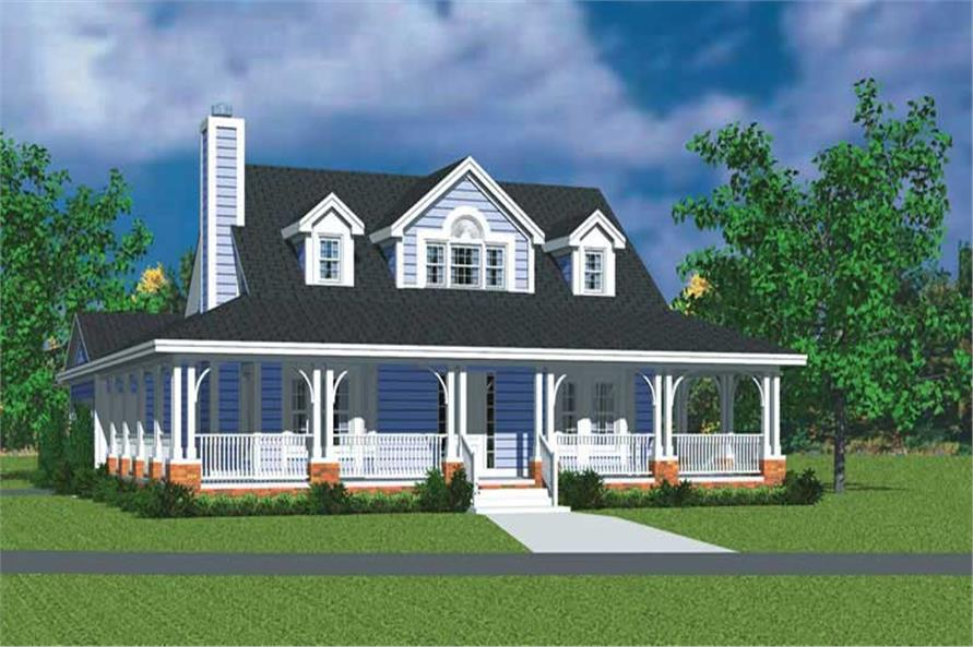 Main image for house plan # 17739