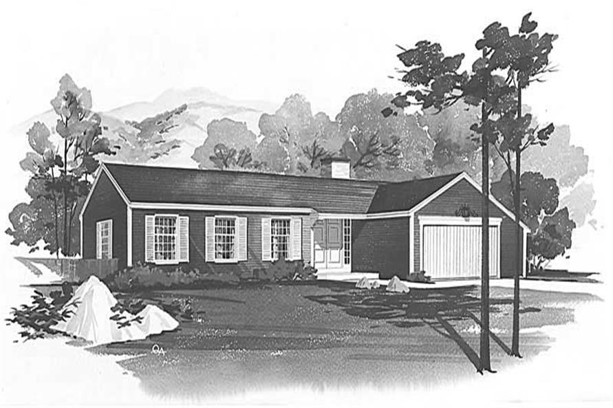 Main image for house plan # 17114