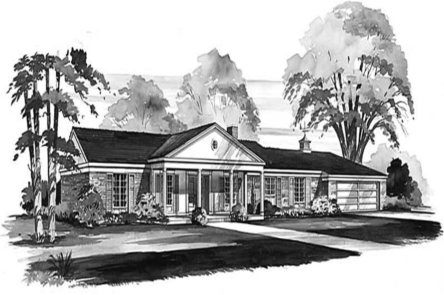 Main image for house plan # 17331