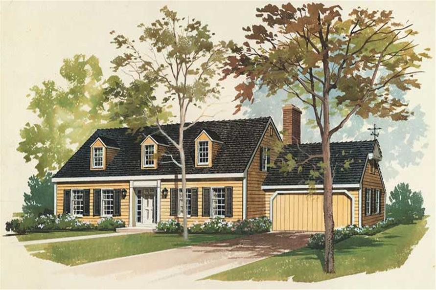 Main image for house plan # 17332