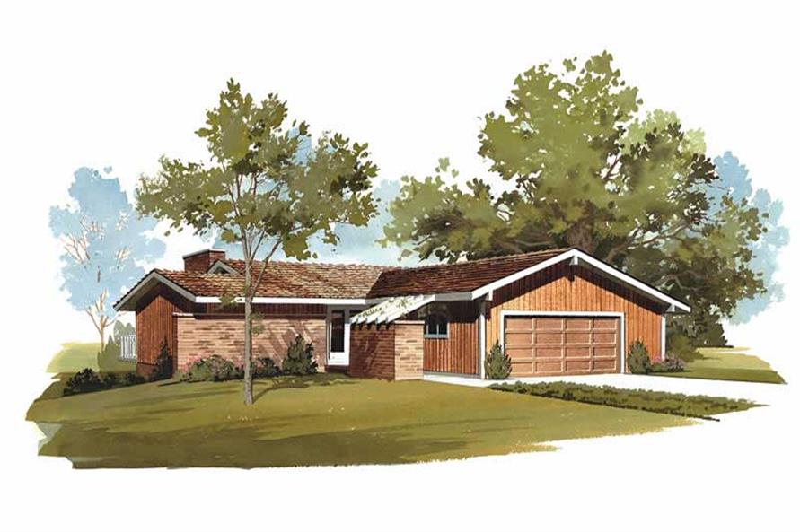 Main image for house plan # 17715