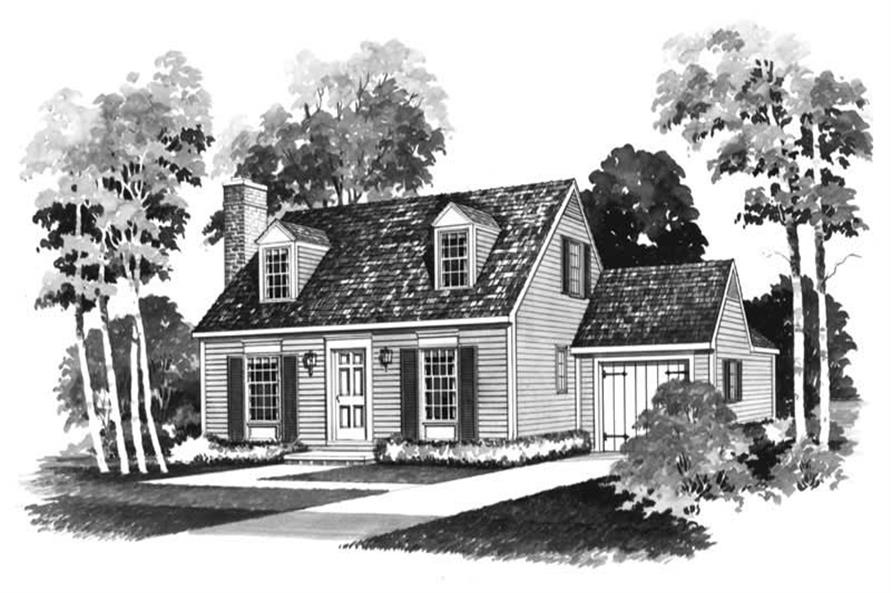 Main image for house plan # 17400