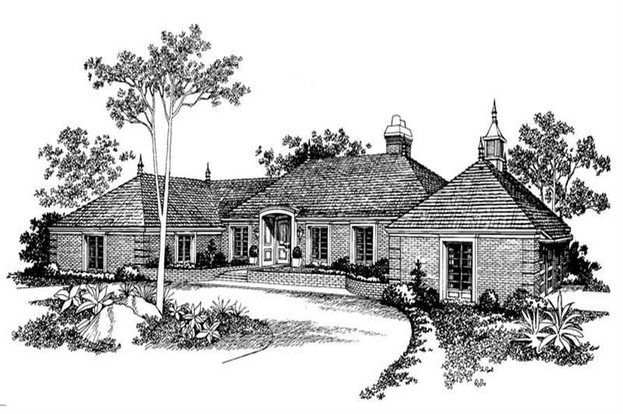 Main image for house plan # 17414