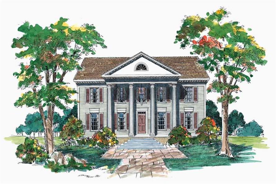 Main image for house plan # 17590