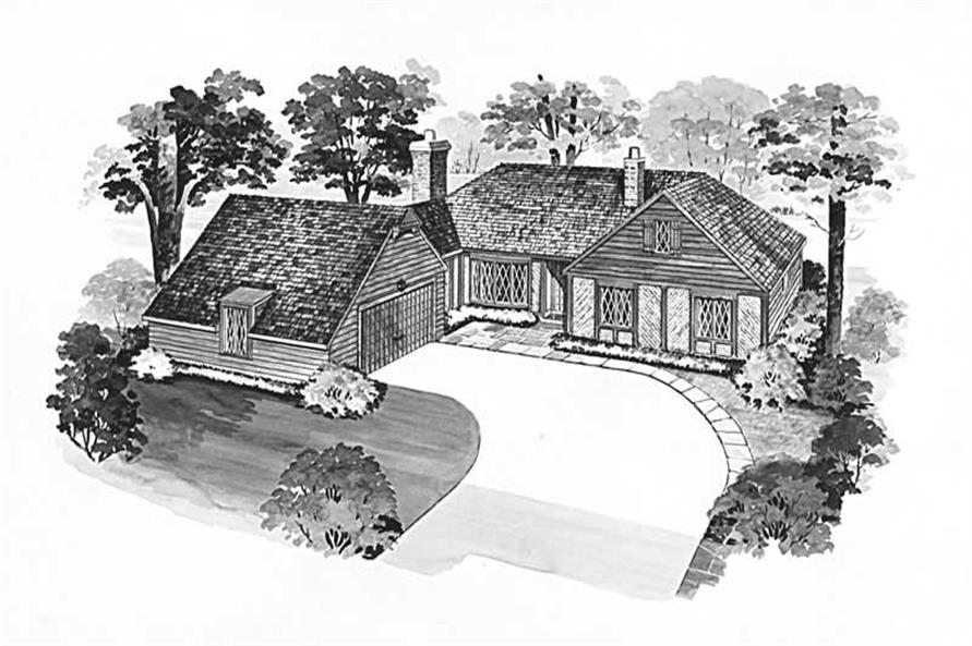 Main image for house plan # 17403