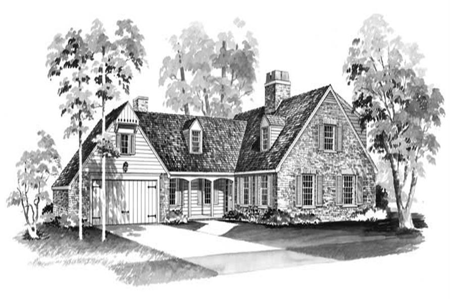 Main image for house plan # 17405