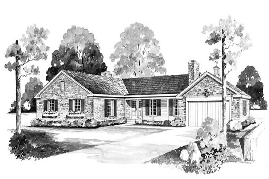 Main image for house plan # 17330