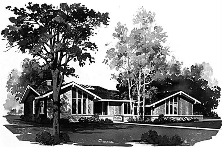 Main image for house plan # 17670