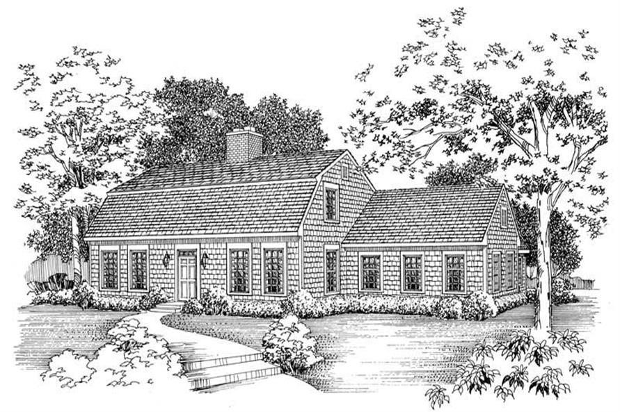 Main image for house plan # 17617
