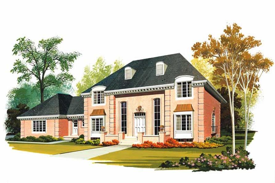 Main image for house plan # 17469