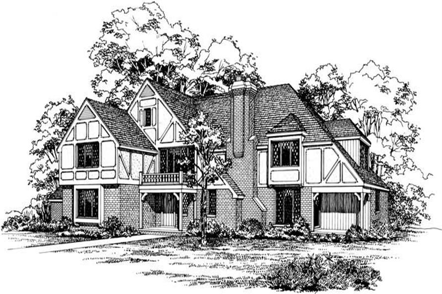 Main image for house plan # 17433